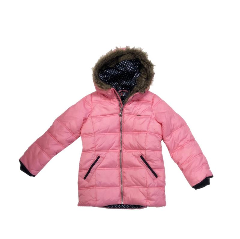 0001 Far out meiden winterjas roze model maat 128