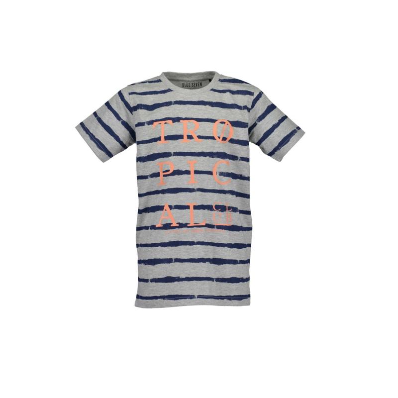 0009 Blue Seven shirt grijs  602689