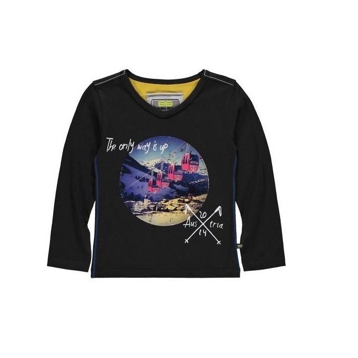 1 Bomba T-shirt w ski lift B15-225