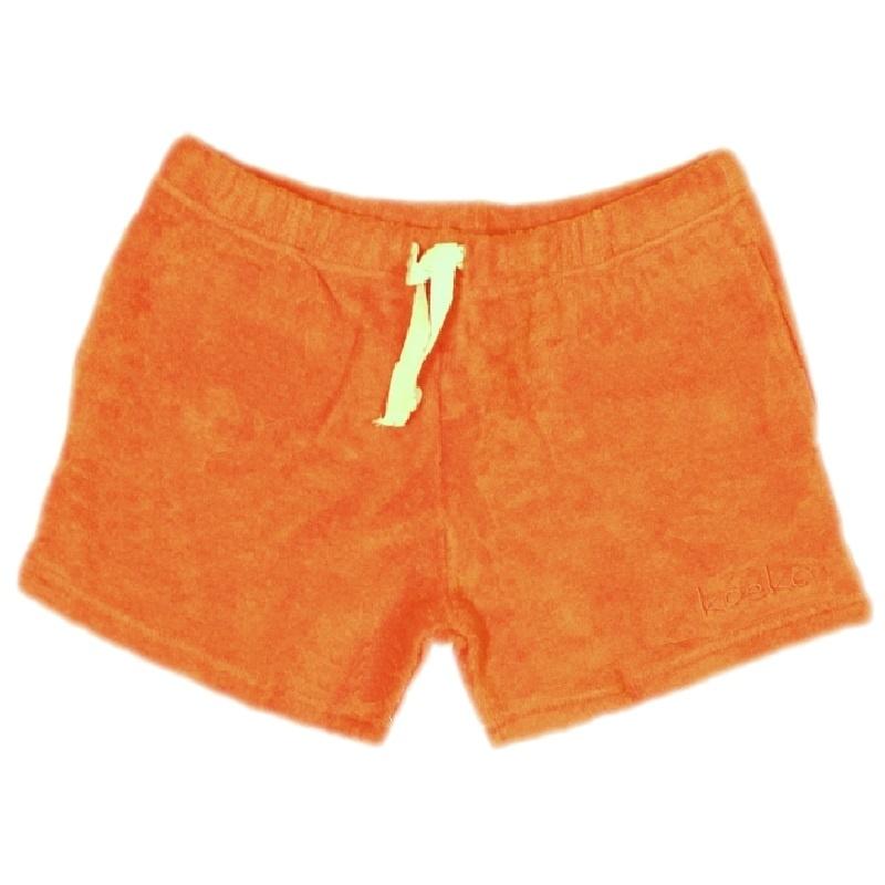 006 Koeka short oranje maat 62-68