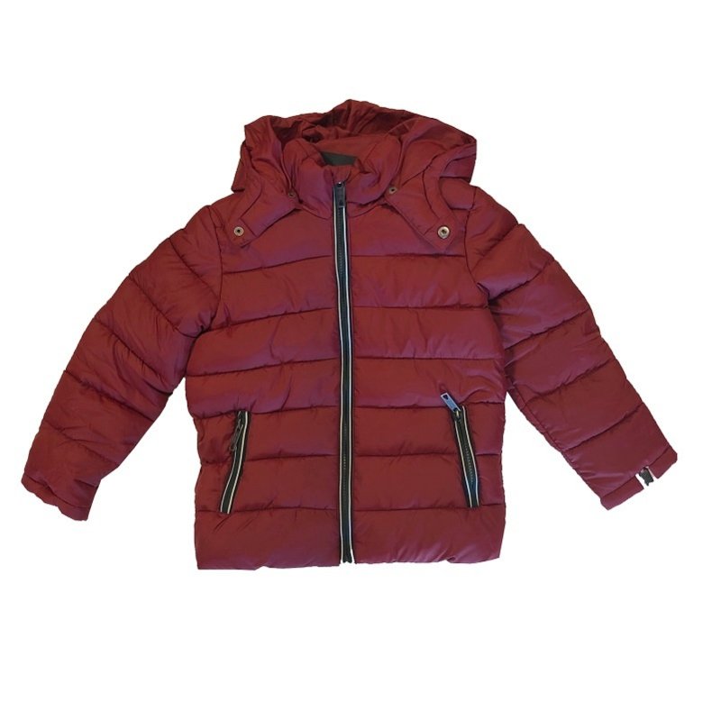 0001 Far out jongens winterjas bordeaux