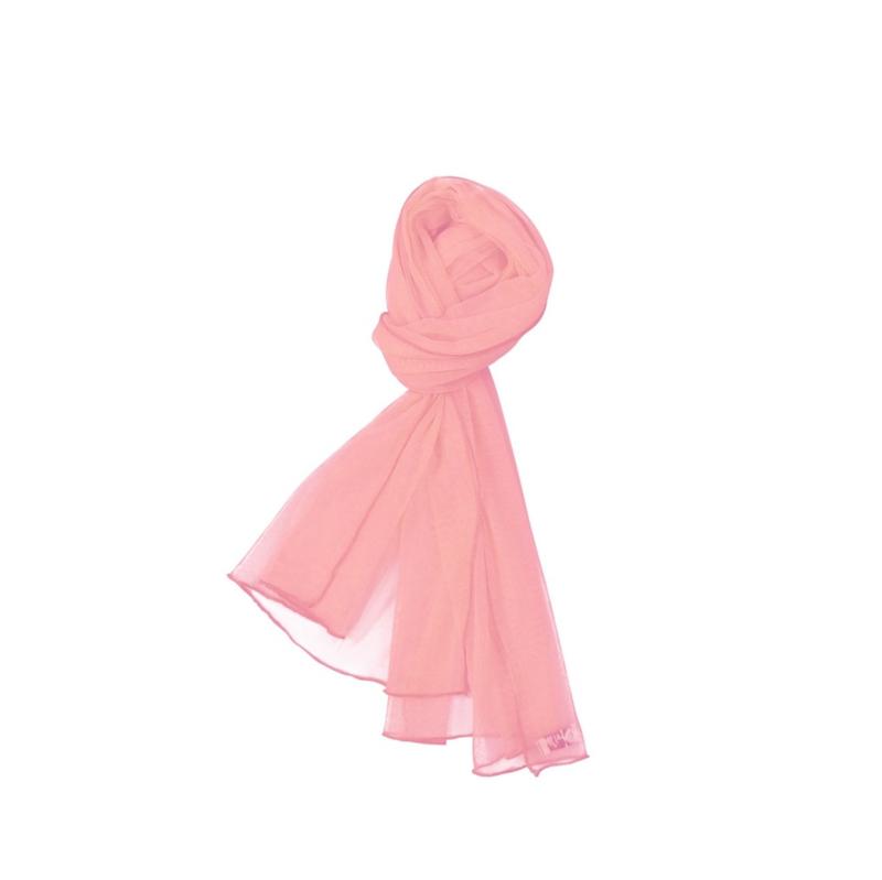 000051 LoFff  sjaal - perzik  Z8159-04