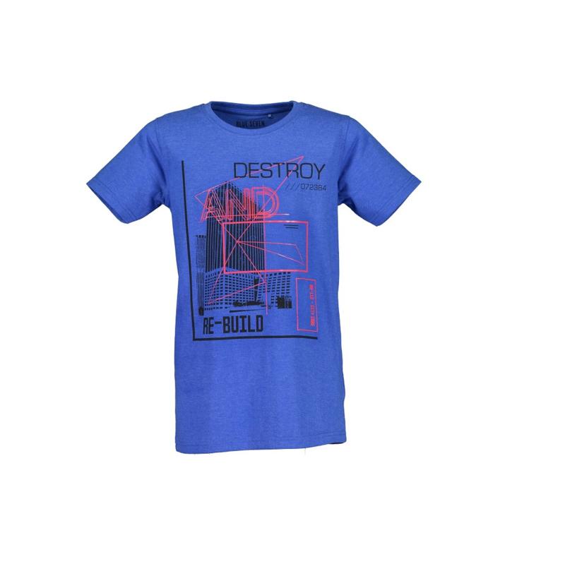 0006 Blue Seven shirt blauw  602699