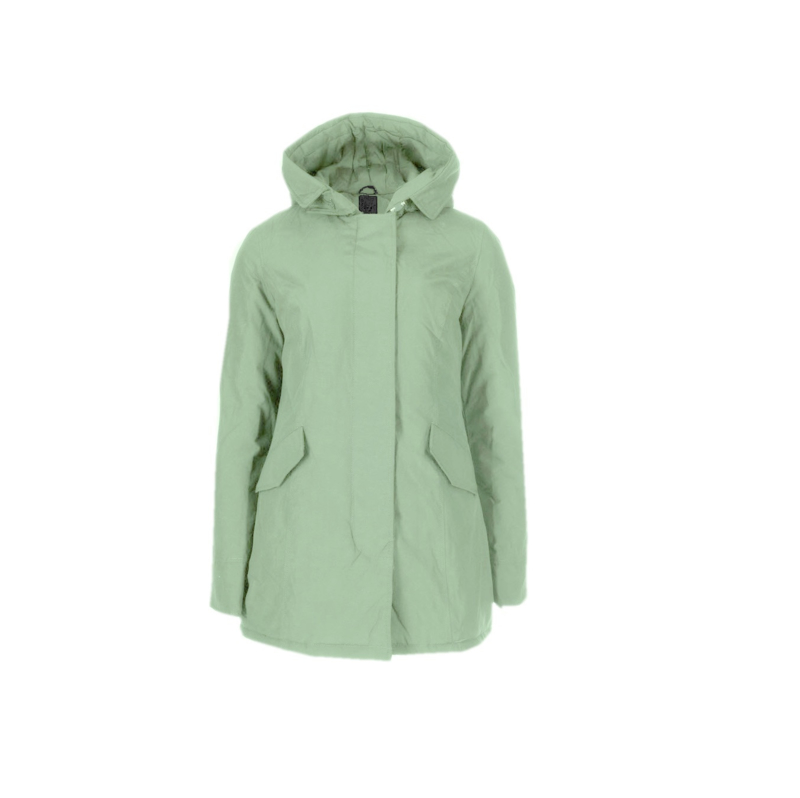 01 Airforce  Dames parka jas vertiver green W0051-662