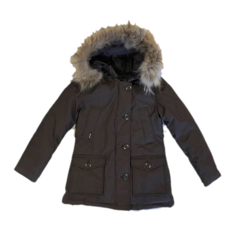 013 Airforce  parka jas brown hR72W maat 122-128