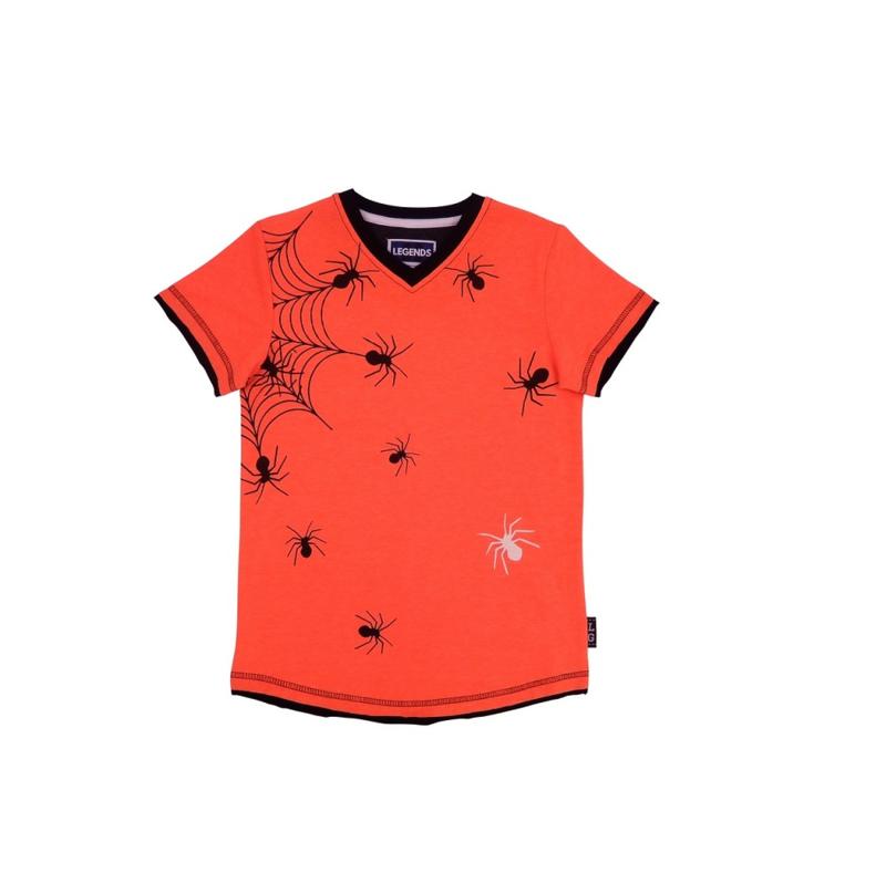00001  Legends22 Shirt Stanly orange-grey 20-301