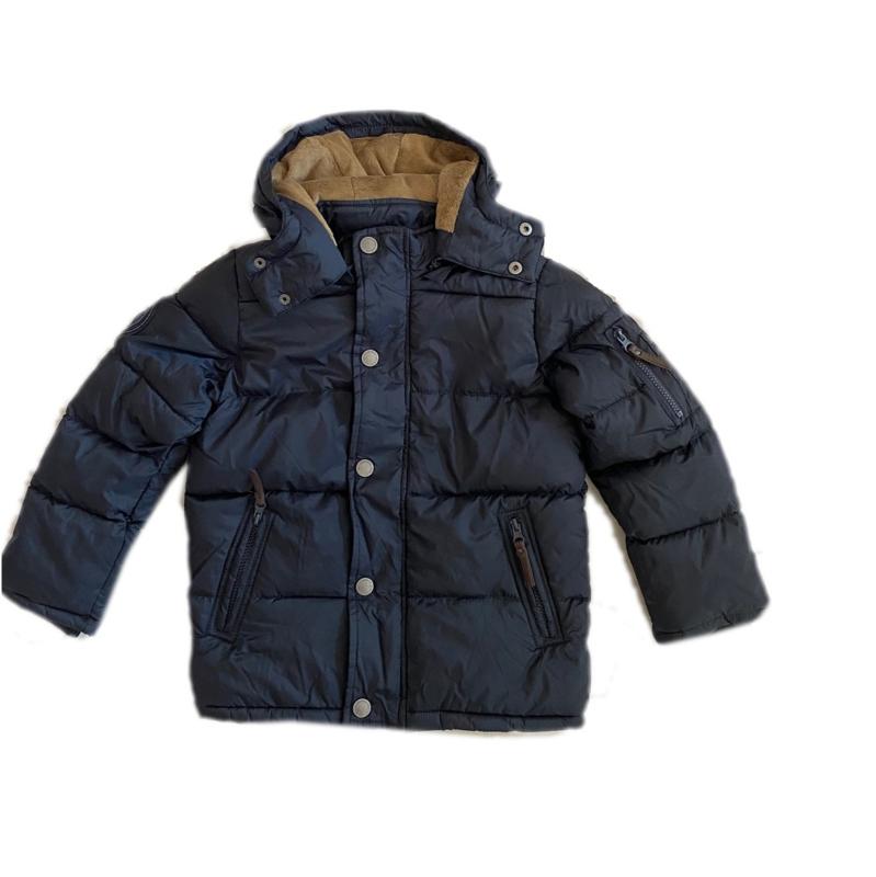 0001 Bakito jongens winterjas blauw maat 6