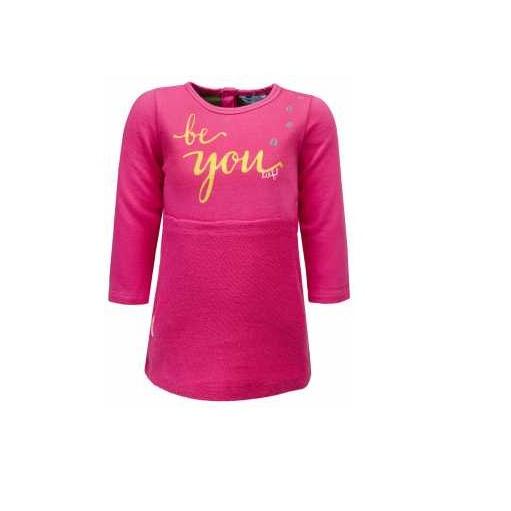 1 Lief jurk roze maat 80