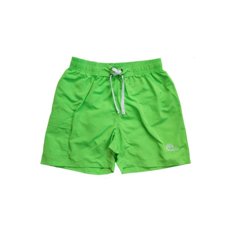 Just Beach Coconut Green board short