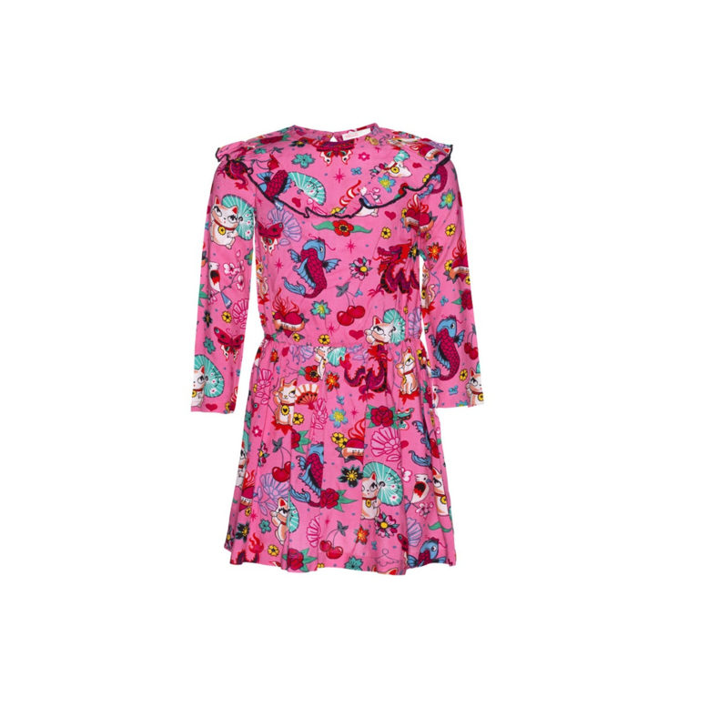1 Mim-Pi jurk MIM-1010 roze