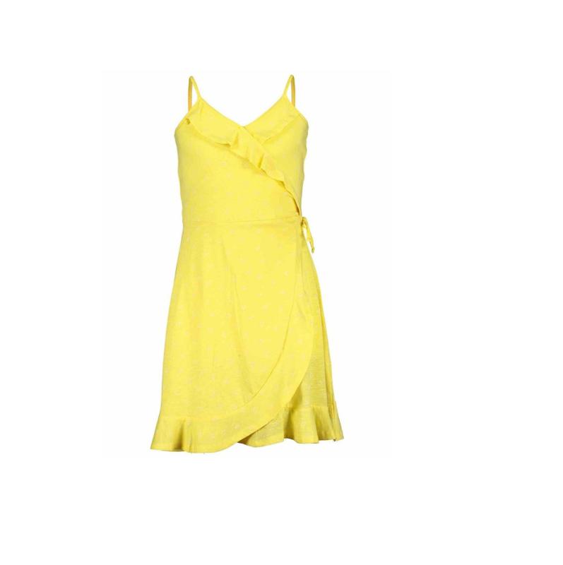 000031 Blue Seven jurk geel 528079