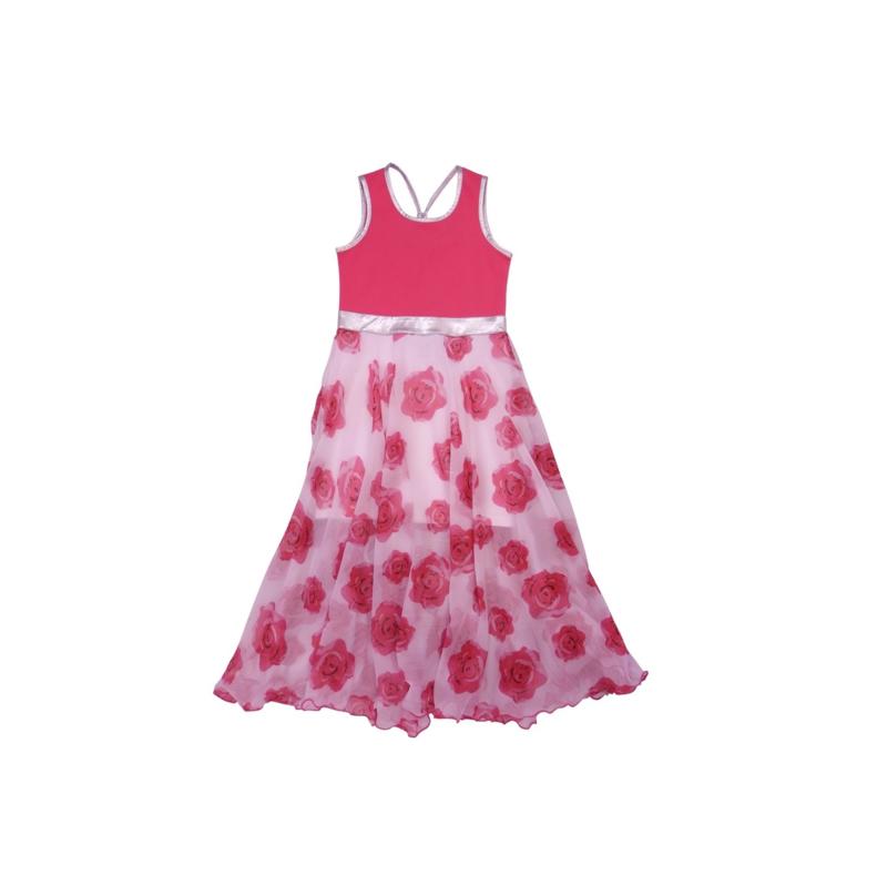011 LoFff jurk Barcelona roze Z8306-04