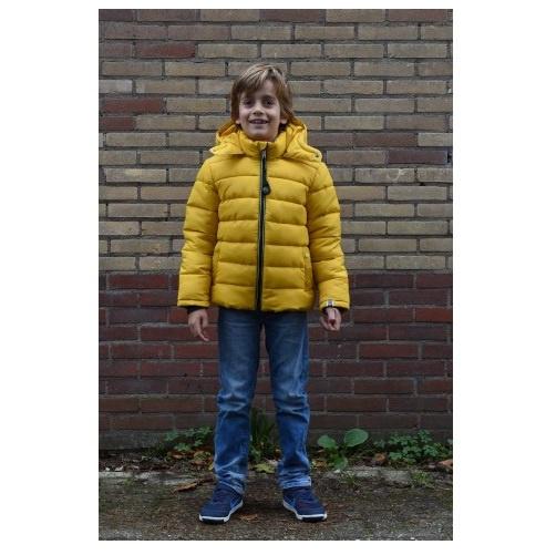 0001 Far out jongens winterjas  Geel model Monkey