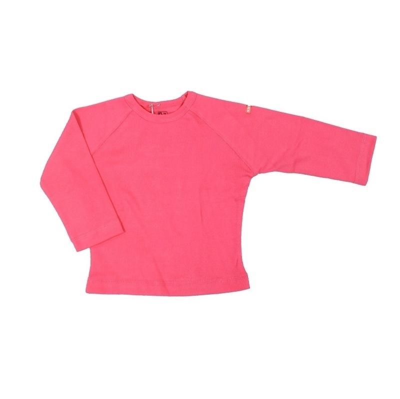 0001 Shirtje longsleeve roze  maat 74