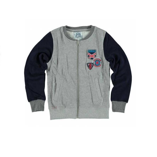 041 Blue Star Jeans grijs vest BSW-0816