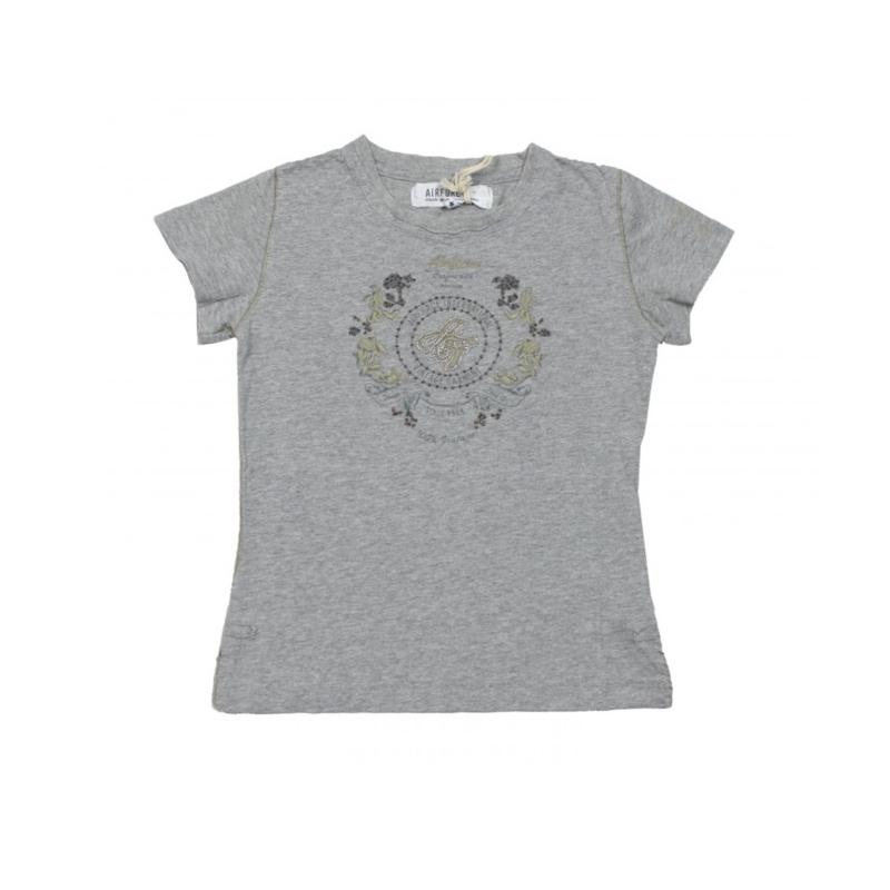 00019 Airforce shirt 2164 grijs maat 104