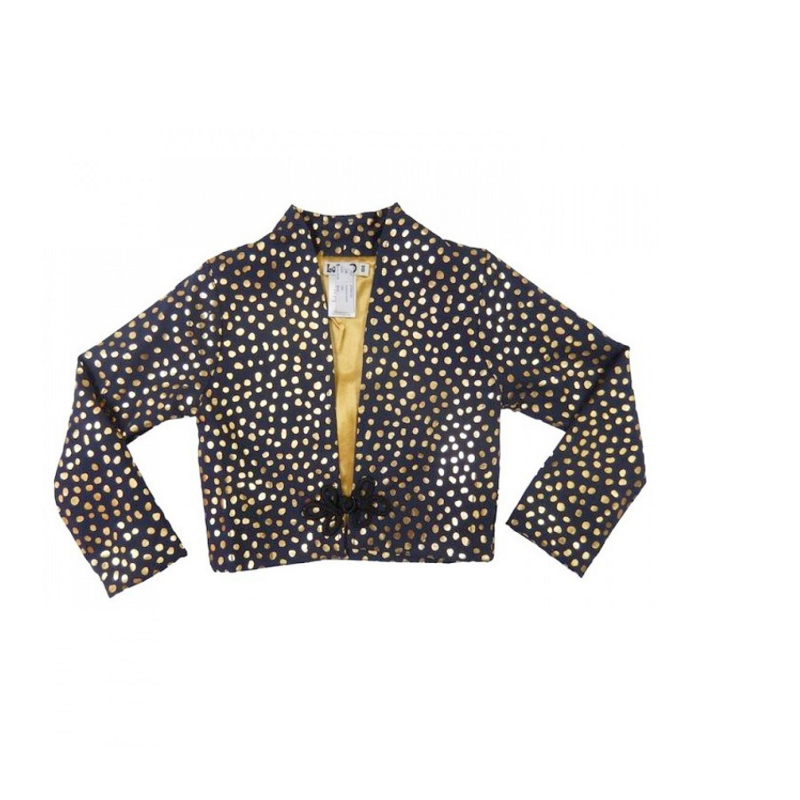 006 LoFff jasje blauw goud  Z7852-03