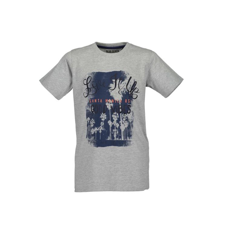 0009 Blue Seven shirt grijs  602688
