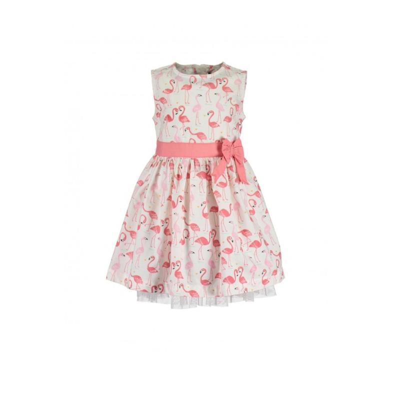 0008 Blue Seven jurk roze 919023