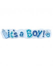 IT,S A BOY BANNER 1.37M