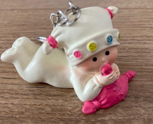 SLEUTELHANGER BABY ROZE