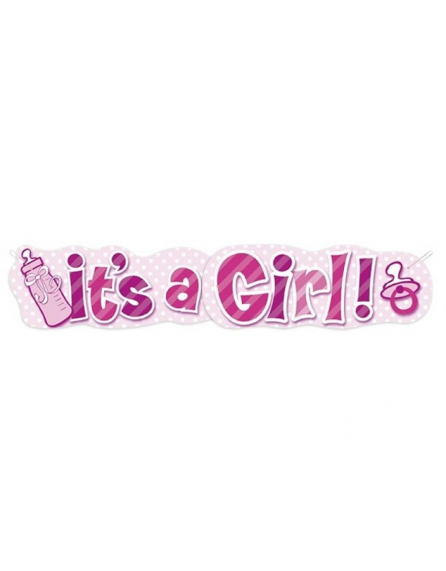IT,S A GIRL BANNER 1.37M