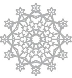 Snowstar Mask stencil