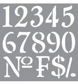 Sjabloon Old numbers