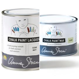 Wanneer gebruik je ChalkPaint Wax en wanneer Lacquer?
