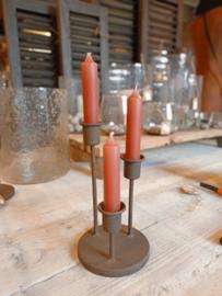 Kandelaar voor 3 kaarsen