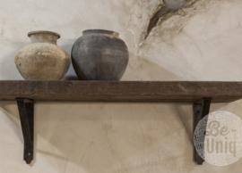 Wandplank robuust 80 cm inclusief steunen Be Uniq