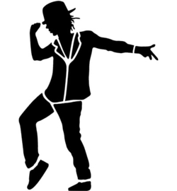 Danser Sjabloon A4