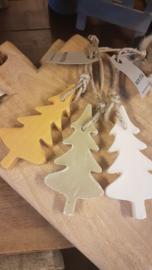 Kerstboom zeep Mijn Stijl zachtgroen