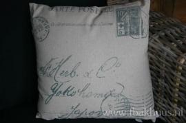 Mooi kussen van Bloomingville (DK)...carte postale
