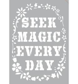 Seek Magic Zelfklevend sjabloon