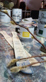 Workshop Verftechnieken III met Annie Sloan Paint datum in overleg