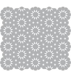 Stars in Circles mask stencil