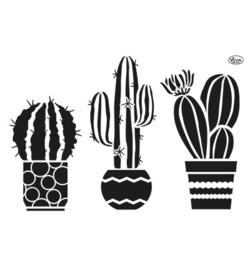 Cactus sjabloon A4