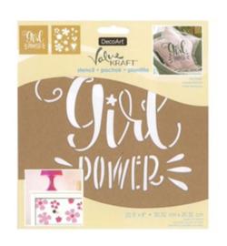 Girlpower Sjabloon
