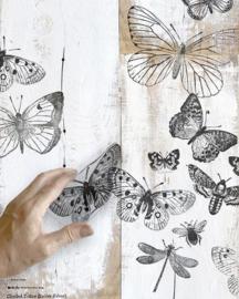 IOD deco stempel Butterflies