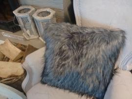 "Kussen ""fur fluffy"" 45 x 45 cm"