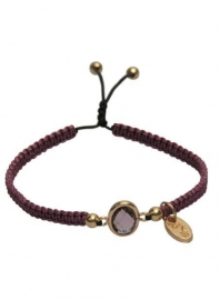 Dare-to-be-fabuous-armband Marsala