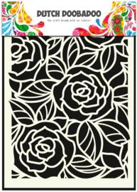 Big Roses A5 sjabloon