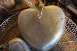 Supergroot hart van Braxton 32 cm!