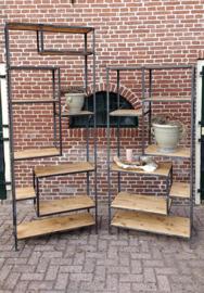Stoer industrieel tv-meubel VERZENDEN BINNEN NEDERLAND SLECHTS € 6,50