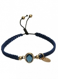 Dare-to-be-fabulous-armband Night Blue