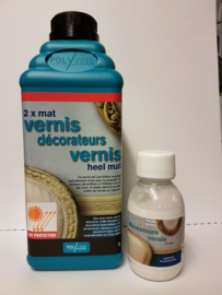 Decorateursvernis Heel mat 1 liter