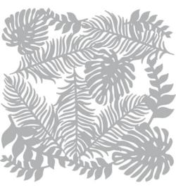 Mask Stencil Bladeren Botanisch 30 x 30 cm