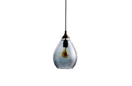 Simple hanglamp glas large grijs van Be Pure