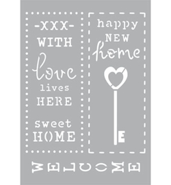 New Home/Welcome/Sweet home A5 formaat